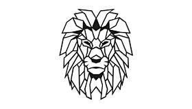 Wall art steel Lion 1.0