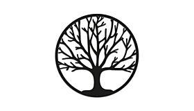 Wall art steel Tree